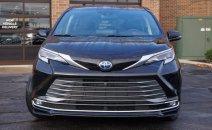 Toyota Sienna Platinum Hybrid 2021, màu đen, nhập khẩu Mỹ. Giá cực tốt
