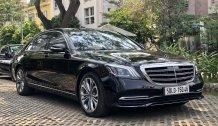 [Hot sale] Mercedes-Benz S450 Luxury 2020 cũ, màu đen ruby-nội thất nâu, chính hãng