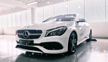 Mercedes CLA250 AMG, Màu trắng, Nhập Khẩu Chính Hãng, 50 km