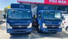 Xe tải NISSAN 3T5 thùng mui bạc 4m3 . Hỗ trợ trả góp đến 80% giao xe ngay