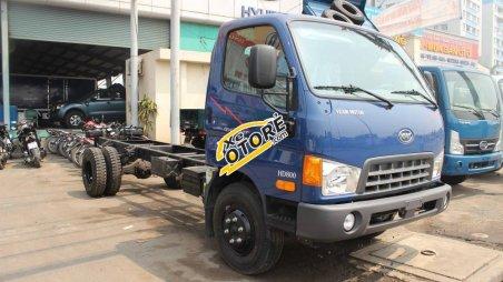 Xe tải 8 tấn HD700 máy Huyndai