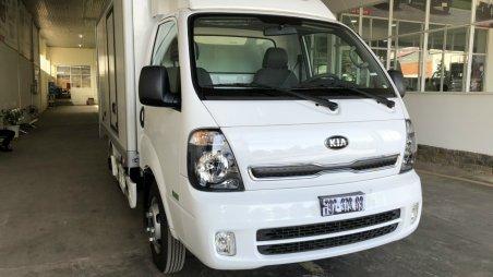 Bán xe Thaco Kia sản xuất 2021, màu trắng